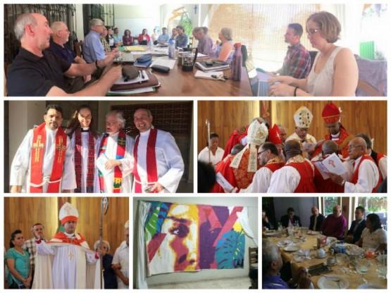 Foundation Cristosal Annual Board Meeting & Consecration of the New Bishop of El Salvador +Juan David Alvarado