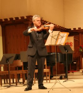 Martin Chalifour, Concertmaster, Los Angeles Philharmonic performing a solo at St. Edmunds