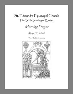 Bulletin for Easter 6