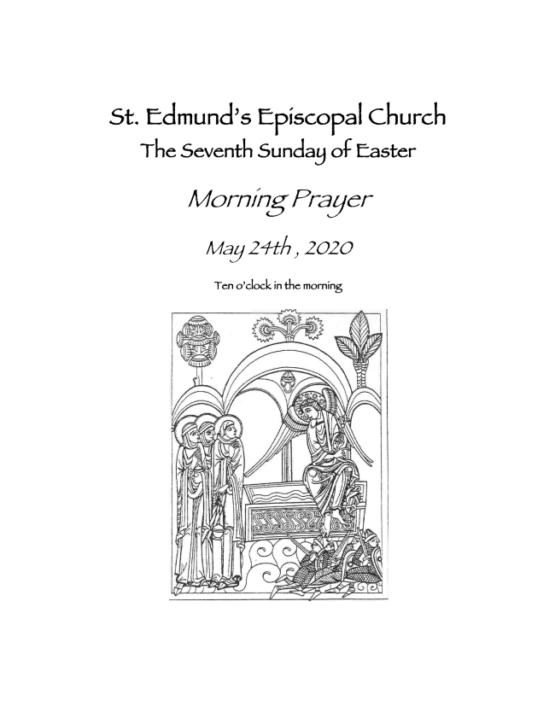 Easter 7 Bulletin